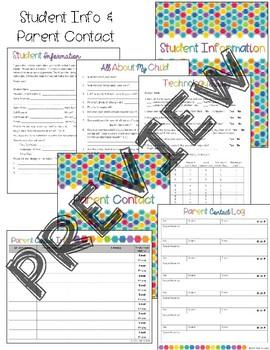 03CF0CE9 83B3 42B2 B7CF BBF7D4207BF2 - Editable Rainbow Teacher Planner