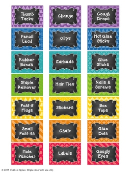 05CA7BAE 2B85 4312 8F77 08E20D2D6FCB - Teacher Toolbox - Editable Chalkboard Labels