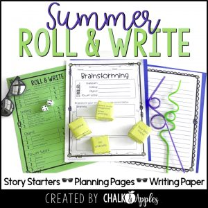 Summer Roll & Write