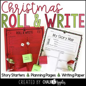 12 Christmas Preview.001 - Year-Long Holiday Writing Activities Bundle (Roll & Write)