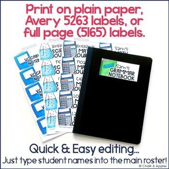 1EB00843 B329 4722 932E F8EFC0AD4B55 - Instant, Editable Labels for Student Notebooks & Folders