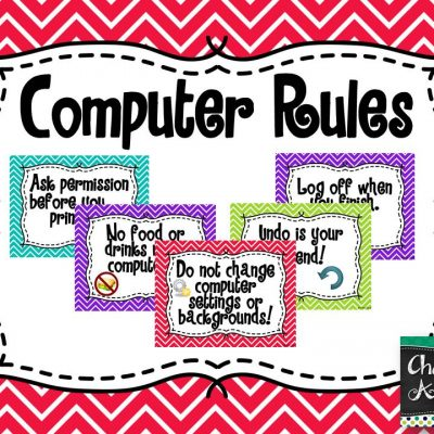 Computer Rules – Freebie Friday