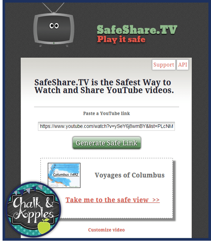 SafeShare1 - Tech Thursday {Ad-Free YouTube Videos}