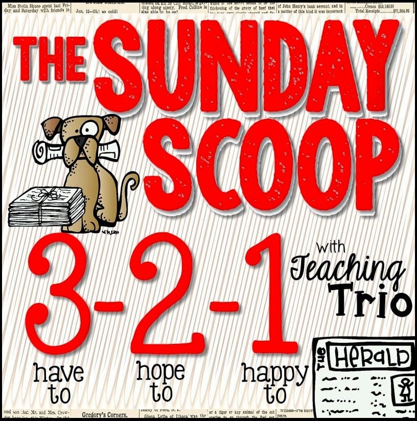 SundayScoopButton - Sunday Scoop & Visual Plans {10/19/14}