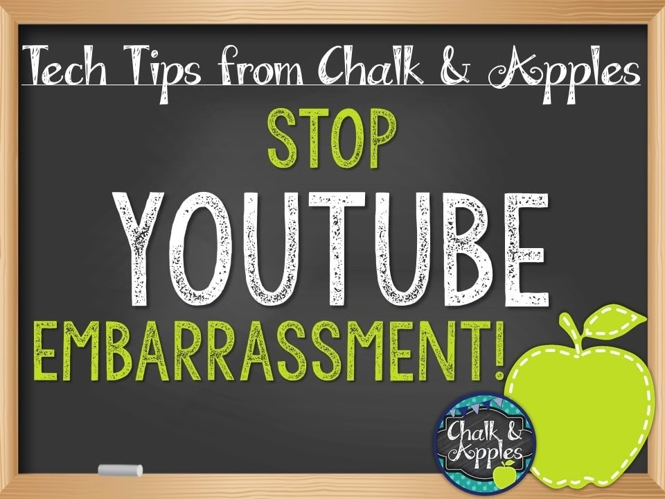 YouTubeEmbarrassment - Tech Thursday {Ad-Free YouTube Videos}