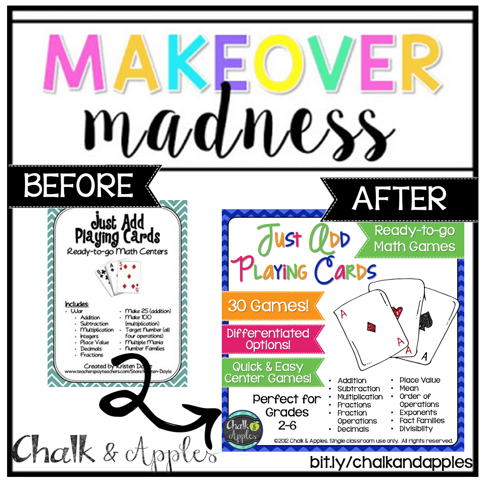 Slide5 - Makeover Madness (#TPTSellerChallenge)