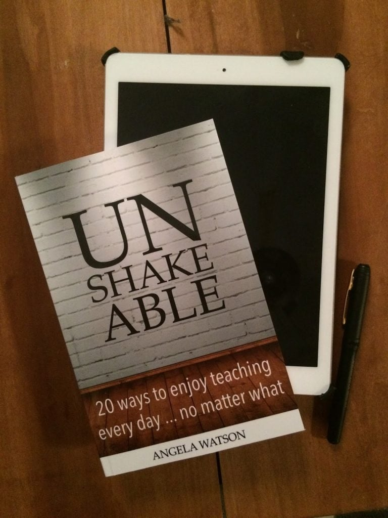 UnshakeablebookandeBook - Learning to enjoy teaching again: Unshakeable