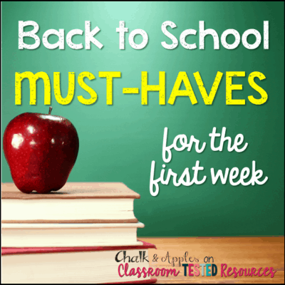 Back to School Must-Haves and Freebies