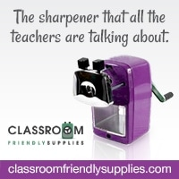 purpleLogo ad - My Very Favorite Pencil Sharpener has gone PURPLE!!