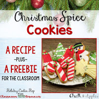 ChristmasSpiceCookieFreebieonTPT - Christmas Spice Cookies {Holiday Cookie Hop}