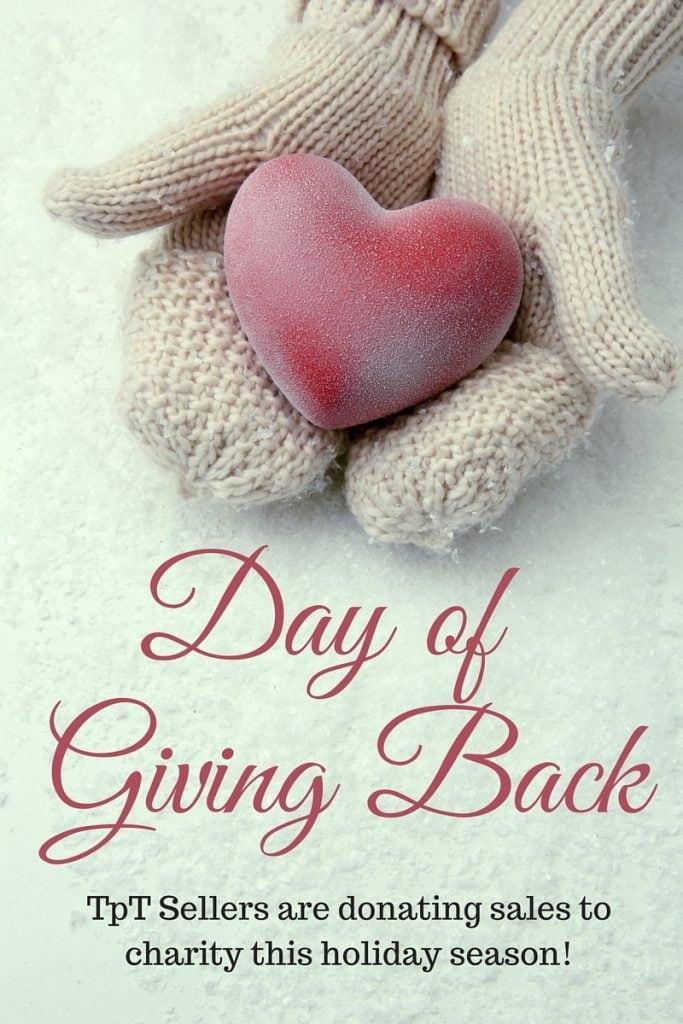 DayofGivingBack - Giving Back this Holiday Season
