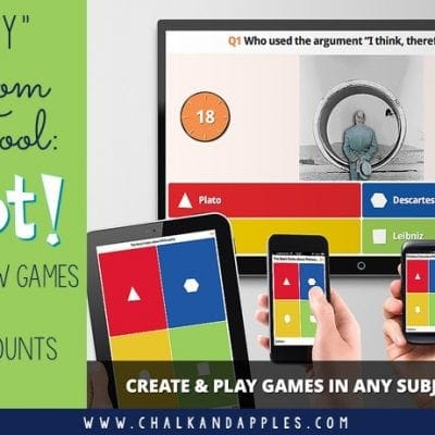 'Must Try' Classroom Tech Tools: Kahoot!