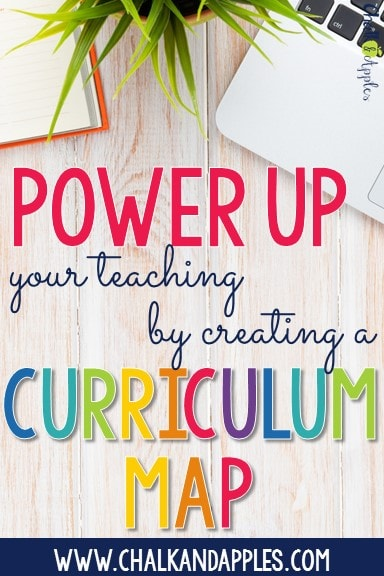 PinterestImage Regular - Power Up Your Teaching by Creating a Curriculum Map