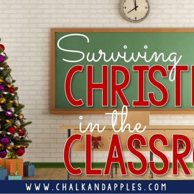Surviving December in the Classroom