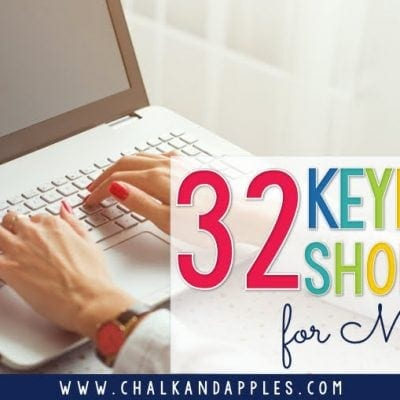 32 Keyboard Shortcuts for Mac Users
