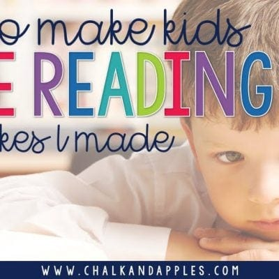 How to Make Kids Hate Reading: 3 Mistakes I Made