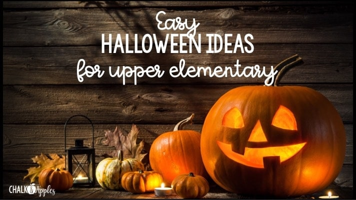 Halloween fun for upper elementary classrooms