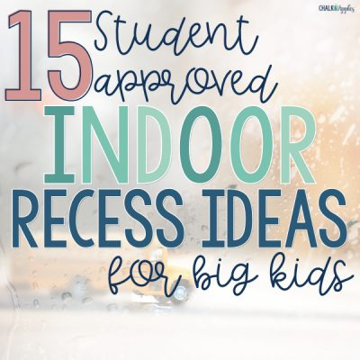 15 Indoor Recess Games for Big Kids