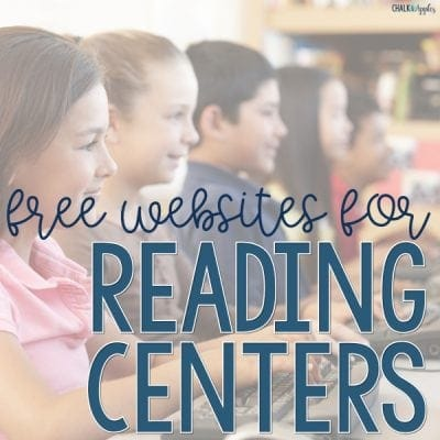 FREE Websites for Reading Centers in Upper Elementary