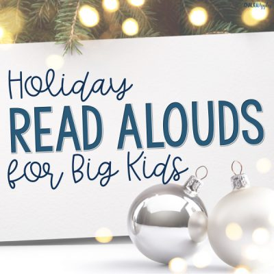Holiday Read Alouds for Big Kids