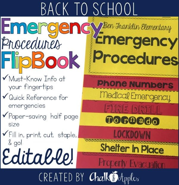 Emergency Procedures Flipbook