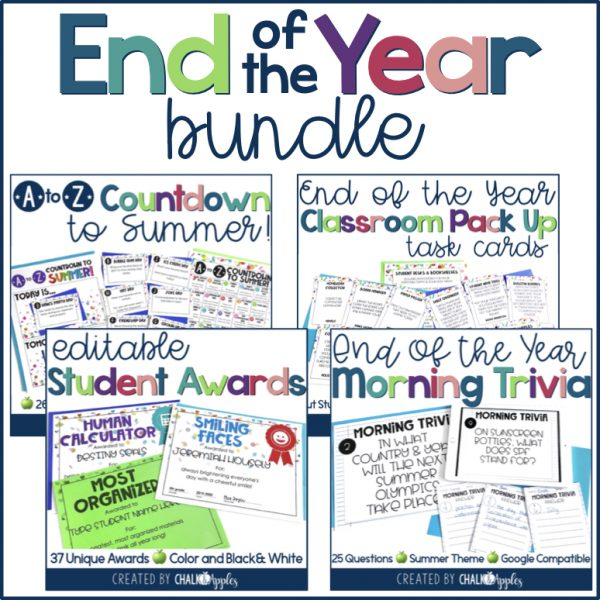 PREVIEW End of Year Bundle - End of the Year Bundle