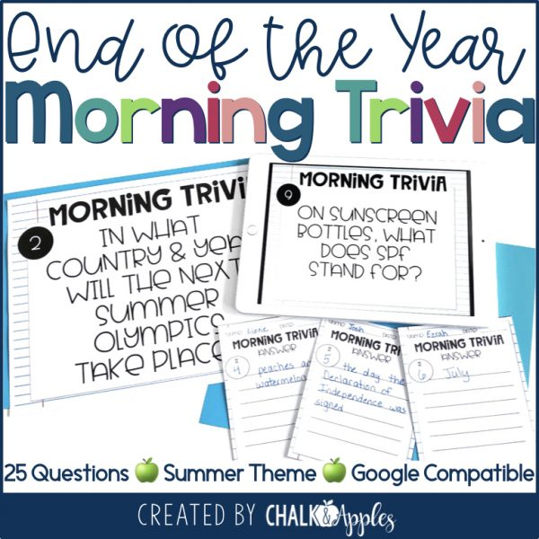 PREVIEW Morning Trivia EOY.001 - End of the Year Bundle