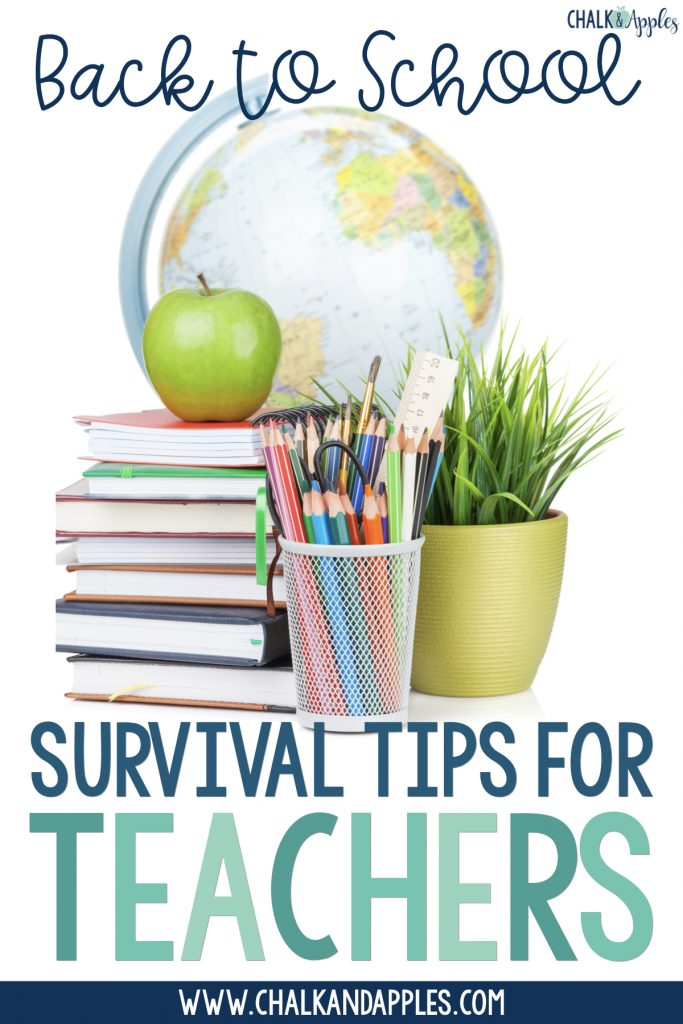 Back to School tips for teachers to help start your year off right and keep your work-life balance in check during the busy back to school season.