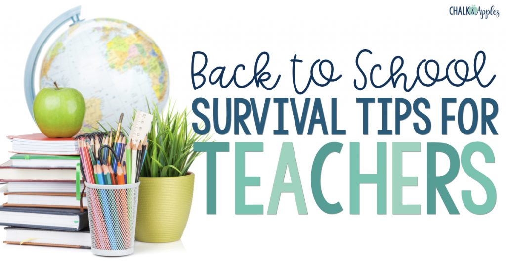 Back to School Tips for Teachers