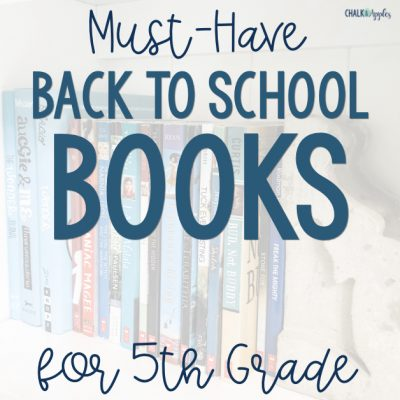 Must-Have Back to School Books for 5th Grade