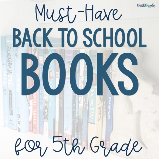 5th grade books for back to school