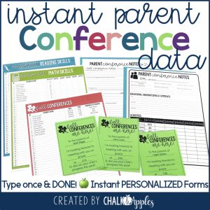 instant parent teacher conference forms