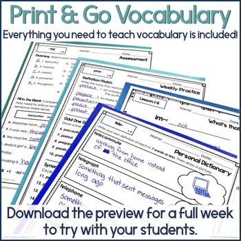 2A56CA0E B740 4382 921D 0CFAB5E200D0 - 3rd & 4th Grade Vocabulary UNIT 1 - Greek & Latin Roots