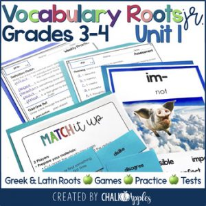 3rd 4th Grade Vocabulary Unit 1 Greek Latin Roots 1.jpg - 3rd & 4th Grade Vocabulary UNIT 1 - Greek & Latin Roots