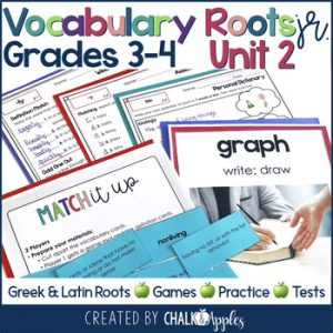 3rd 4th Grade Vocabulary Unit 2 Greek Latin Roots 1.jpg - 3rd & 4th Grade Vocabulary UNIT 2 - Greek & Latin Roots