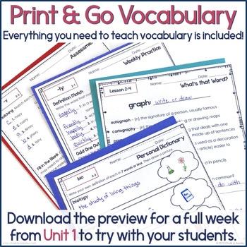 3rd 4th Grade Vocabulary Unit 2 Greek Latin Roots 2.jpg - 3rd & 4th Grade Vocabulary UNIT 2 - Greek & Latin Roots
