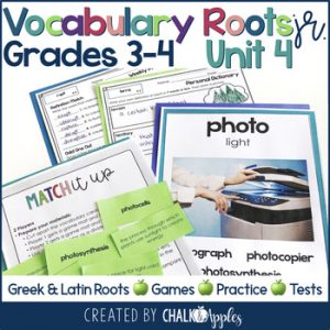 3rd 4th Grade Vocabulary Unit 4 Greek Latin Roots 1.jpg - 3rd & 4th Grade Vocabulary UNIT 4 - Greek & Latin Roots