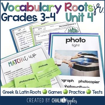 3rd 4th Grade Vocabulary Unit 4 Greek Latin Roots 1.jpg - 3rd & 4th Grade Vocabulary UNIT 4 - Greek & Latin Roots
