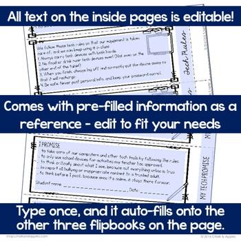 4C185CAA 83F0 4752 AE04 DF24B3CBA606 - Student Passwords & Technology Info Flip Book (Editable Flipbook)