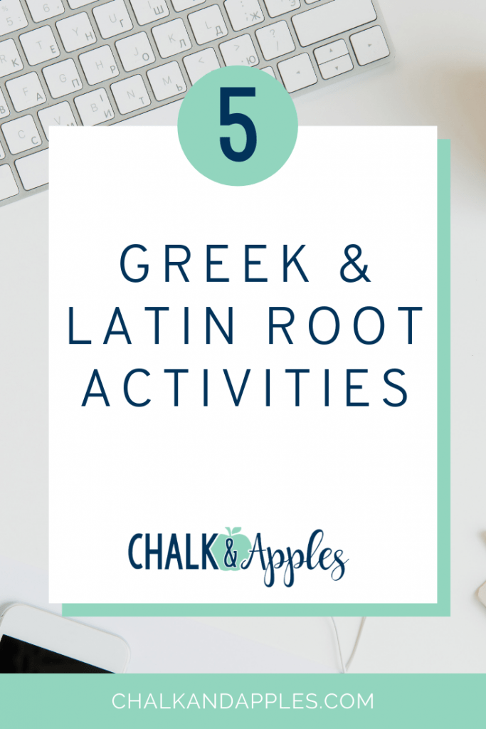 5 greek and latin activities pin - 5 Greek and Latin Root Activities