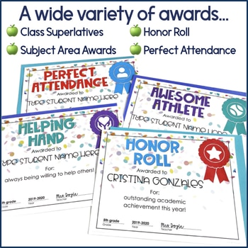 9AAF9DB7 4091 484C 9364 2179AF78A80F - Editable End of the Year Student Awards