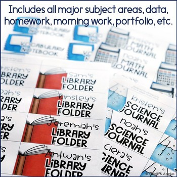 A48AAADF 1784 4882 BFAF 4648C272600E - Instant, Editable Labels for Student Notebooks & Folders