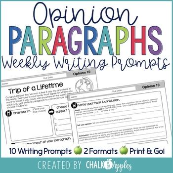 BC3030C9 BFCE 48BB B8D0 4BF453B1D373 - Paragraph Writing Bundle - Print & Digital Weekly Writing Prompts