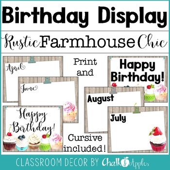 Birthday Display Rustic Farmhouse Chic 1.jpg - Birthday Display - Rustic Farmhouse Chic