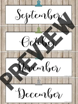 C0112E19 B229 40C8 AE18 2BD8C416DB7F - Editable Calendar Set - Rustic Farmhouse Chic