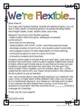 C27B7711 0628 4666 9135 C58DF7E0B9DD - Flexible Seating Rules & Editable Parent Letter