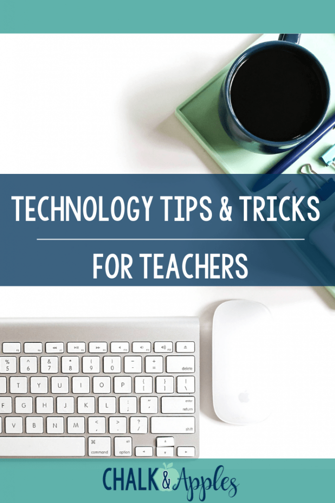 CA Pinterest Templates 1 - Technology Tips and Tricks for Teachers