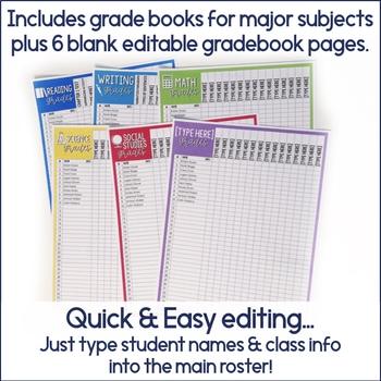 editable class list maker