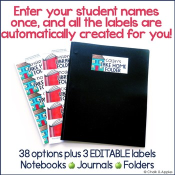DD100554 4D2F 4679 9281 8ED099981391 - Instant, Editable Labels for Student Notebooks & Folders