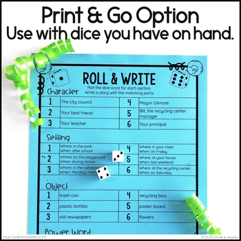 DF279F24 47AE 4989 900A B2359EE60B2C - Year-Long Holiday Writing Activities Bundle (Roll & Write)